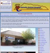Estrella Animal Hospital Website