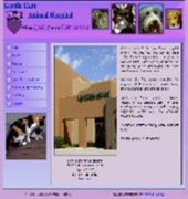 Gentle Care Animal Hospital Website