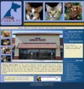 Parkway Animal Clinic Website